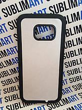 Чехол для 2D сублимации резиновый (TPU) на Samsung Galaxy S7 черный