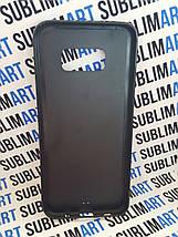 Чехол для 2D сублимации резиновый (TPU) на Samsung Galaxy S8 Plus черный, фото 3