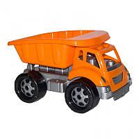 Игрушечные машинки и техника «ТехноК» (991) Игрушка самосвал Титан (с оранжевым кузовом), 30 см