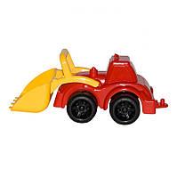 Игрушечные машинки и техника «ТехноК» (960) Трактор Максик, красный