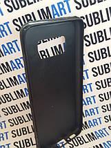Чехол для 2D сублимации резиновый (TPU) на Samsung Galaxy S8 черный, фото 2