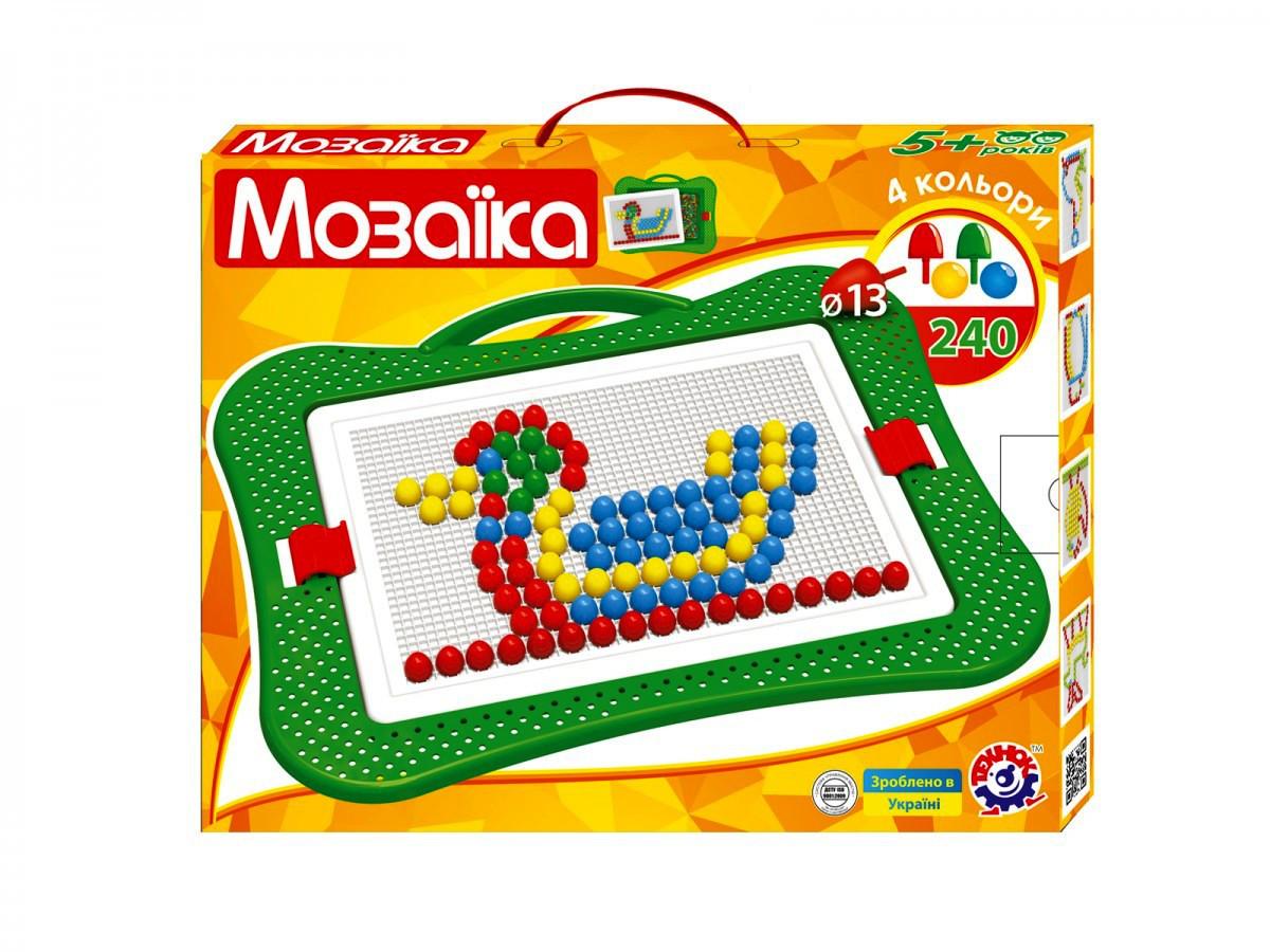 Творчество и рукоделие «Интелком» (3374) Игрушка Мозаика 5, (240 эл.)