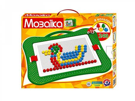Творчество и рукоделие «Интелком» (3374) Игрушка Мозаика 5, (240 эл.), фото 2