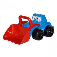 Игрушечные машинки и техника «ТехноК» (960) Трактор Максик, синий