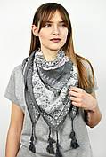 Платок Алеста серый