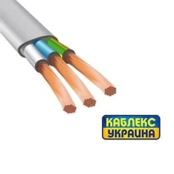 Провод медный ШВВП 3х6 (Каблекс Одесса)