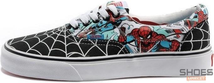 Мужские кеды Vans Era MARVEL Spidermen, Ванс Ера
