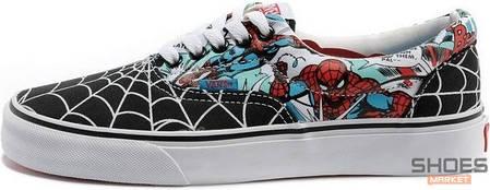 Мужские кеды Vans Era MARVEL Spidermen, Ванс Ера, фото 2