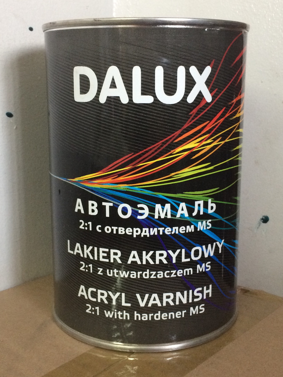 Автомобильная краска Dalux RAL 1021(желтый)