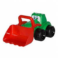 Игрушечные машинки и техника «ТехноК» (960) Трактор Максик, зеленый