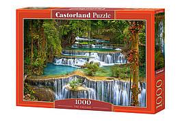 Пазлы 1000 элементов Castorland 103782 Водопад