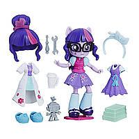 Игровой набор Твайлайт Спаркл мини Сменные наряды MLP Equestria Girls Twilight Minis Switch 'n Mix Set