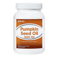 GNC PUMPKIN SEED OIL 1000, 100 softgels