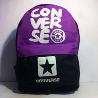 Рюкзак городской Converse черный фиолетовый