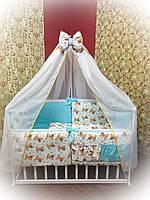 Комплект детского постельного белья в кроватку Премиум ТМ Bonna
