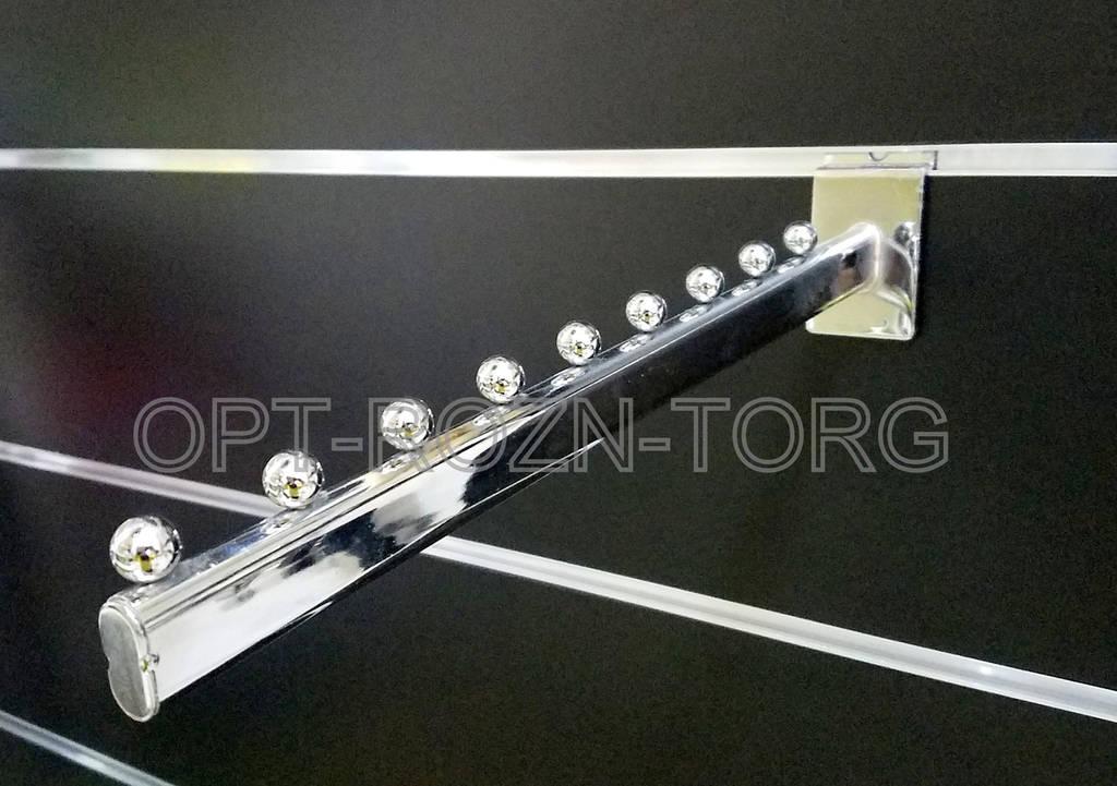 Кронштейн(флейта) овальная прямая в эк.панель