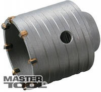 MasterTool Сверло корончатое для бетона 100 мм 12 зубцов Granite 2-08-100