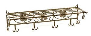 Вешалка кованая настенная 76х25х35 Венеция