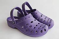 Женские сабо фиолетовые ПВХ Прогресс, фото 1