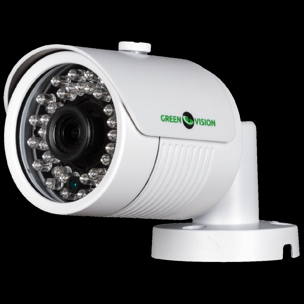 Камера зовнішня IP Green Vision GV-058-IP-E-COS30-30 1536P