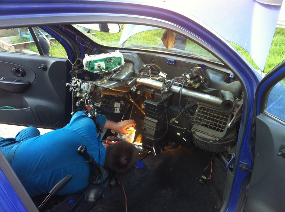 Замена радиатора Печки Hyundai Киев