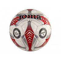 """Мяч футбольный """"Egeo"""" №2025 красно-серо-белый, размер 4"""