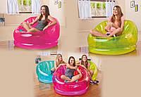 Кресло надувное intex 68594