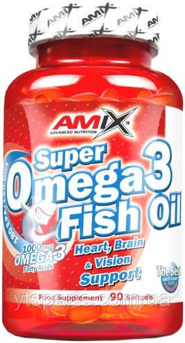 AMIX Super Omega 3 Fish Oil 90 caps