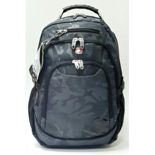 dd9954840893 Прочный городской рюкзак SwissGear синий - Интернет-магазин