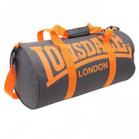 Оригинальная Cумка Lonsdale Barrel Bag - Grey/Orange