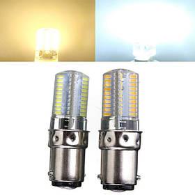 Ва 15d затемняемый 3W белый/теплый белый 3014smd LED шарик силиконовый 110-120в 1TopShop