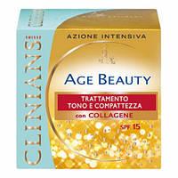 CL Age Beauty Крем-лифтинг тонизирующий для зрелой кожи лица с коллагеном, 50 мл