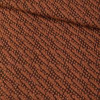 Пальтовый трикотаж диагональ коричневый ш.150 ткань