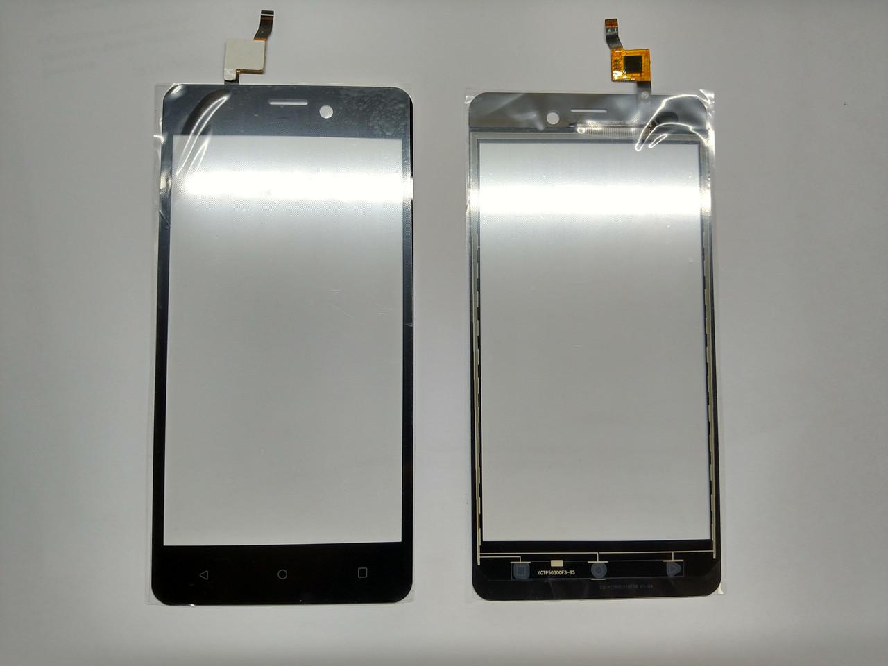 Тачскрин Cенсор Prestigio MultiPhone Muze A5 5502 чорний