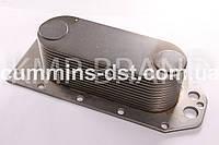 3906296/3918175/3943539 Радиатор масляный на двигатель 6C, 6CT, 6CTA