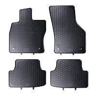 Килими гумові для автомобіля AUDI A3 8V (2012 - ….) колір чорний