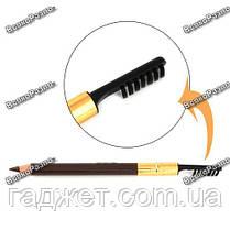 Карандаш для бровей коричневого цвета., фото 3