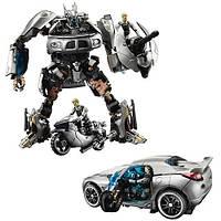 Автобот Джаз и капитан Леннокс - Jazz&Lennox, TF2, Human Alliance, Hasbro