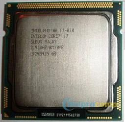 Intel Core i7-870 2.93 GHz/8M (s1156)