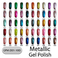 Металлический лак с эффектом гель-лака Lady Victory  GPM 7.5 мл