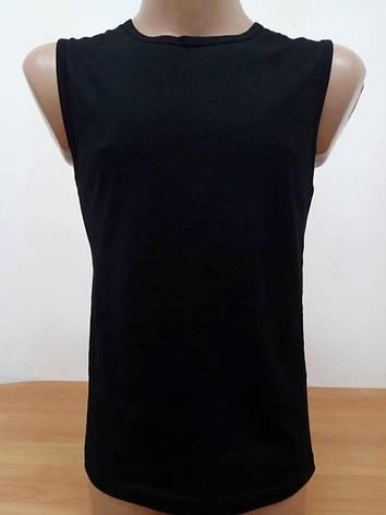 KARISMA Мужская Майка 100%Хлопок (черный) Арт.689, фото 2