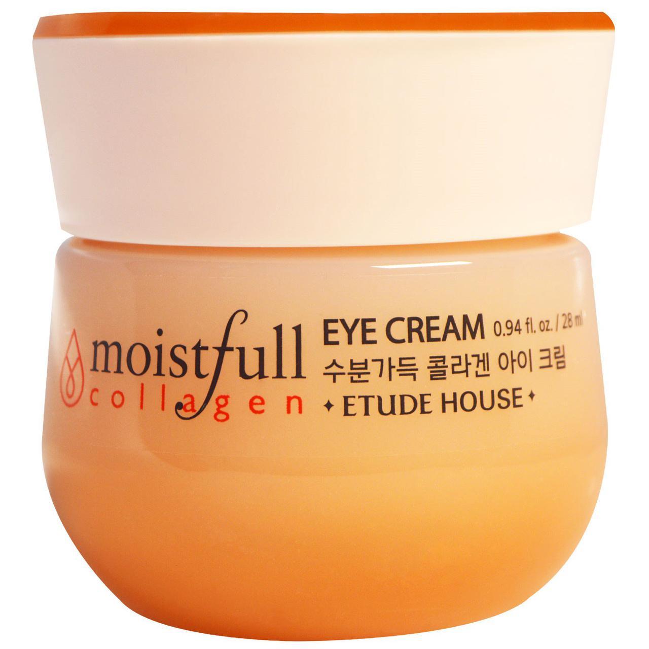 Крем для кожи вокруг глаз с коллагеном ETUDE HOUSE Moistfull Collagen Eye Cream