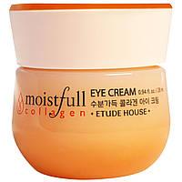 Крем для кожи вокруг глаз с коллагеном ETUDE HOUSE Moistfull Collagen Eye Cream, фото 1