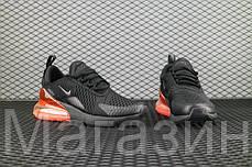 Мужские спортивные кроссовки Nike Air Max 270 Black Найк Аир Макс 270 черные, фото 3