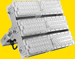 Светодиодный спортивный прожектор LED MACH для стадионов футбольных и мачт 600 вт