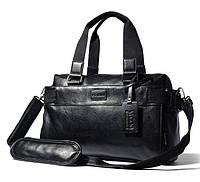 Мужская кожаная сумка. Модель 63287