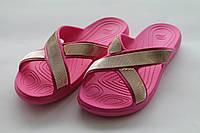 Жіночі тапочки рожеві ПВХ Progress, фото 1
