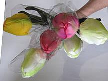 """Искусственные цветы """"Тюльпан крупный"""""""