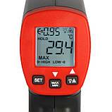 Пірометр UNIT UT300S (-32...+400℃) D:S:12:1 EMS:0,1-1,0, фото 3