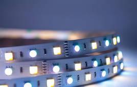 Лента ЛЕД Премиум SMD5050 12В RGB+WW+CW (RGB+CCT ) (цена за 1 метр) LS5050RGB+CCT_3/1 MiLight